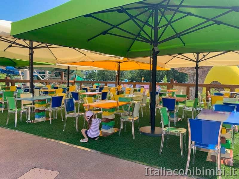 Legoland Water Park - area ristoro