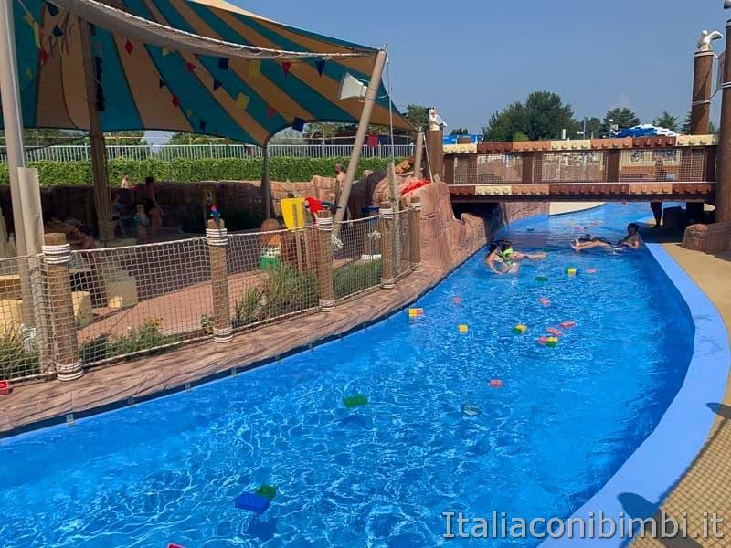 Legoland Water Park - river
