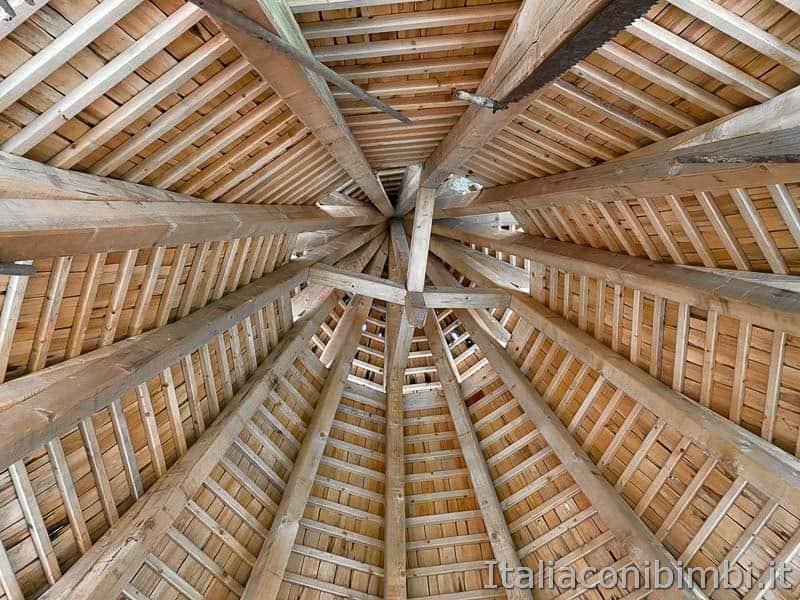 Mondo Magico della Foresta - soffitto delle casette