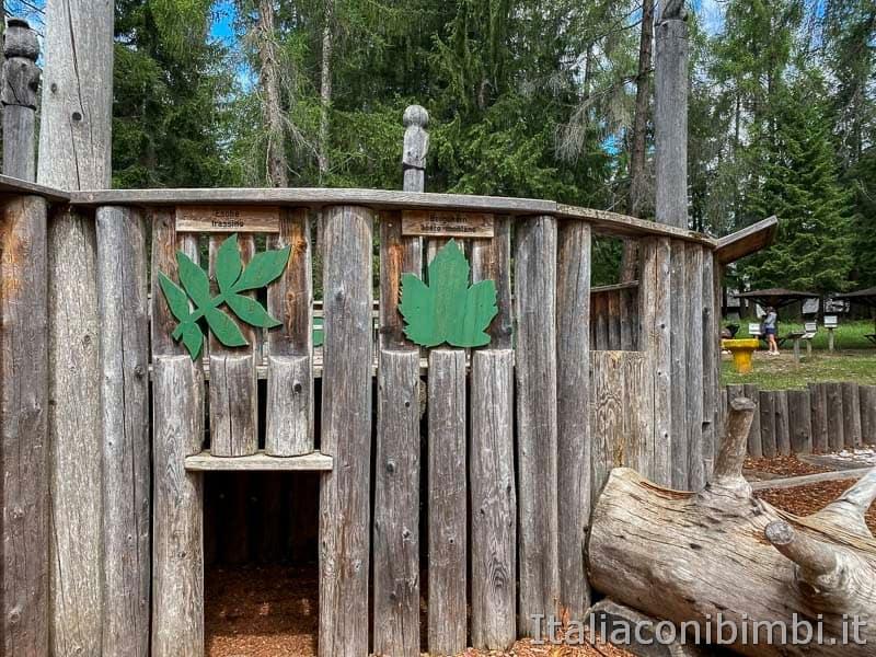 Mondo Magico della Foresta - tana dell'orso