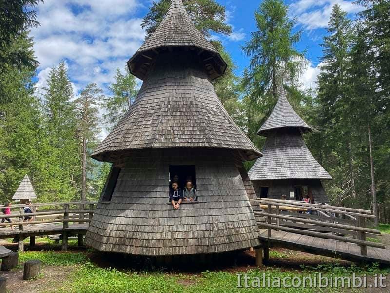 Mondo Magico della Foresta - villaggio degli alberi