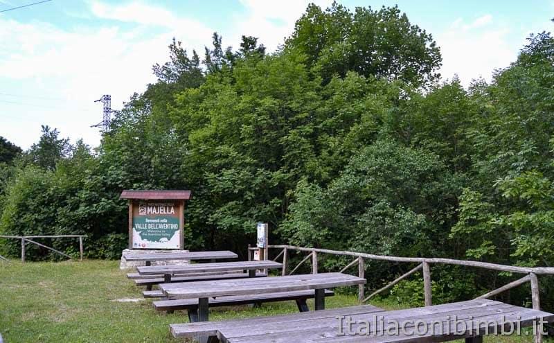 Palena - Valle dell'Aventino area picnic