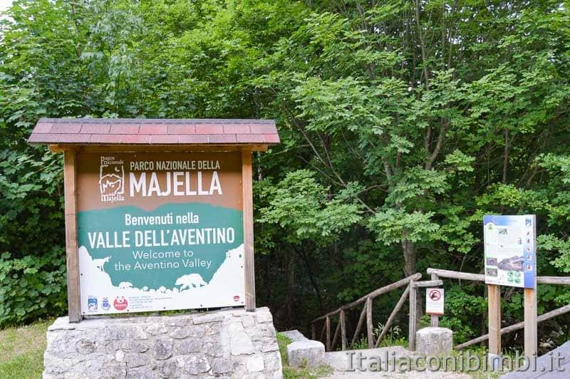 Palena - Valle dell'Aventino cartello