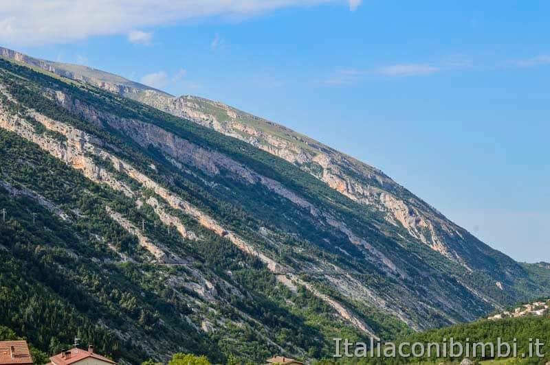 Palena - montagna