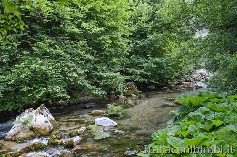 Palena - sorgenti fiume Aventino