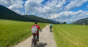 Pista ciclabile San Candido - Brunico - in bicicletta