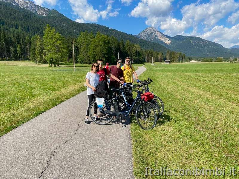 Pista ciclabile San Candido - Brunico - noi con le biciclette