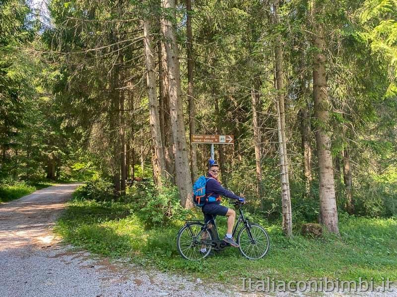 Pista ciclabile Val Pusteria - verso Dobbiaco