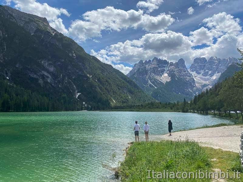 Pista ciclabile - lago di Landro