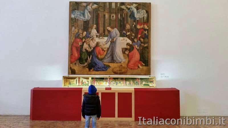 Urbino - palazzo ducale dipinto