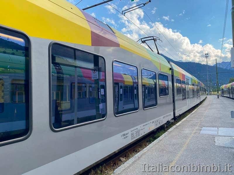 Brunico - San Candido - treno