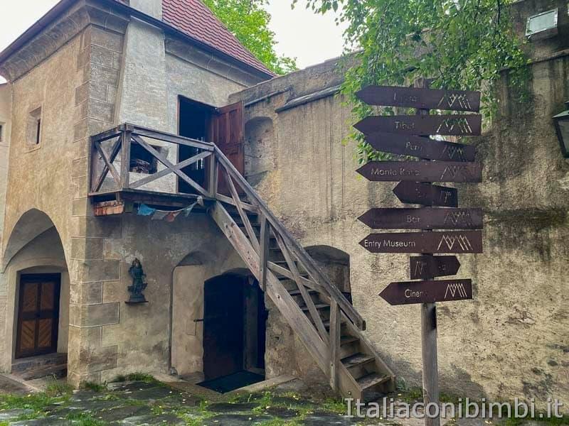 Brunico - casa del custode esterno