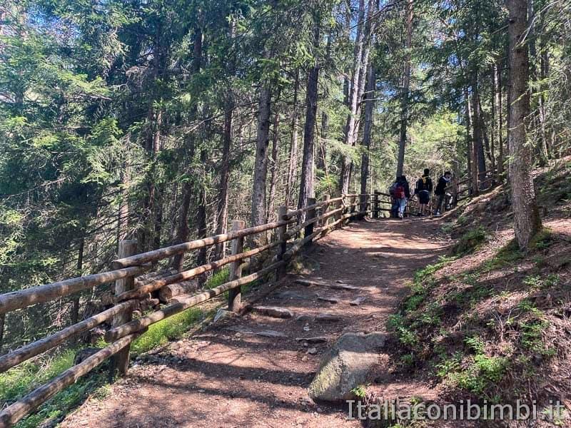 Cascate di Riva - Valle Aurina - passeggiata in salita