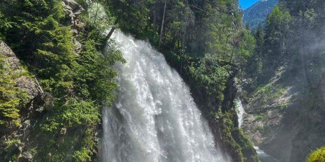 Cascate di Riva - Valle Aurina - terza cascata