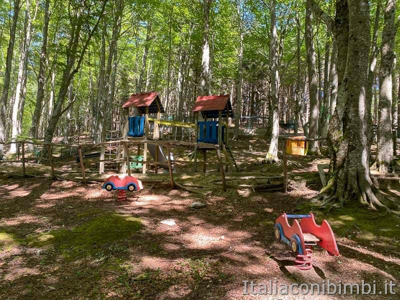 Il Ceppo - area giochi del camping il Ceppo