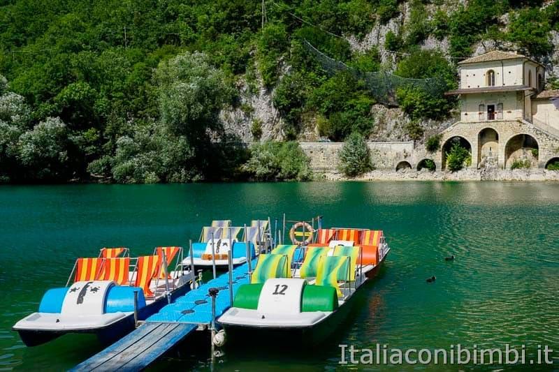 Lago di Scanno - pattini