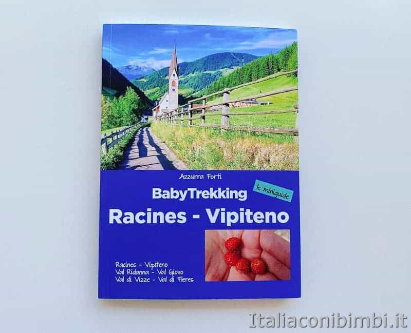 Miniguide Babytrekking - Racines e Vipiteno copertina