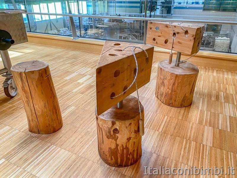 Mondo latte - Dobbiaco - giochi di legno