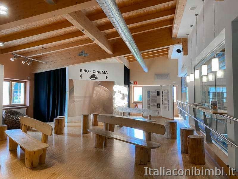 Mondo latte - Dobbiaco - sala del museo