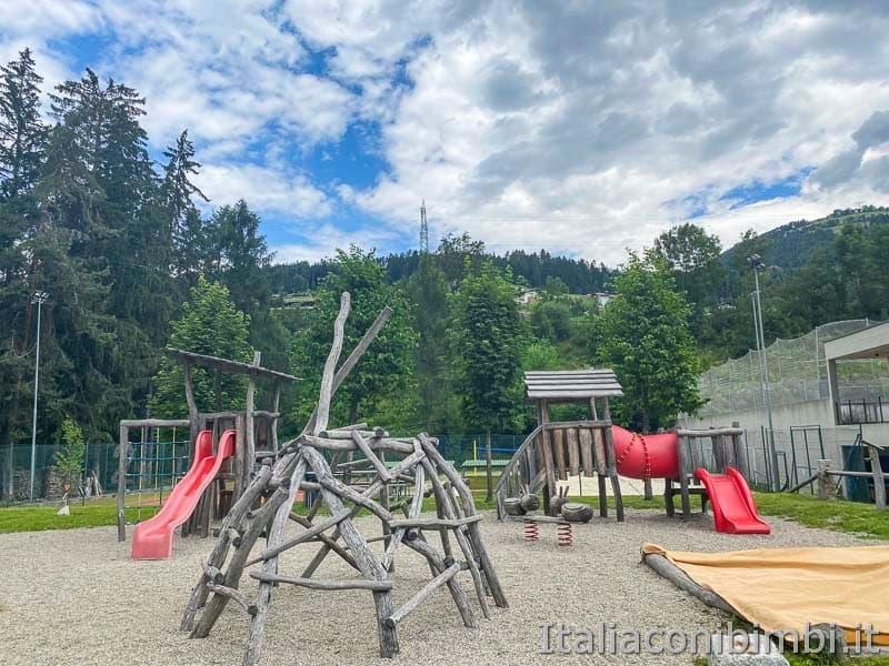 Pista ciclabile San Candido - Brunico - parco giochi