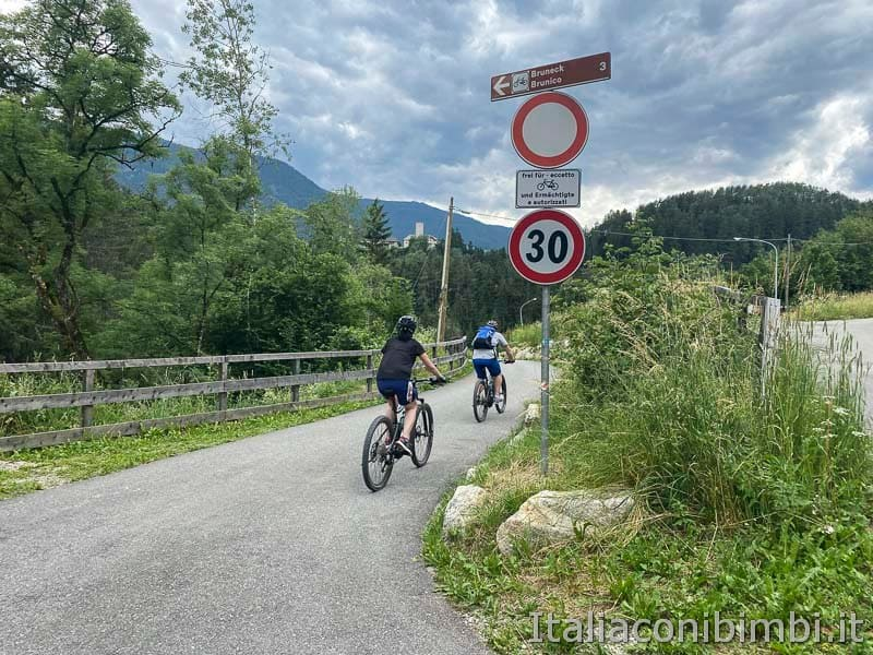 Pista ciclabile San Candido - Brunico - ponte