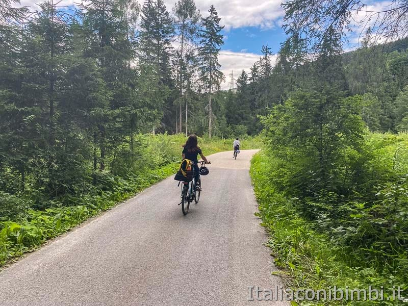 Pista ciclabile San Candido - Brunico - strada