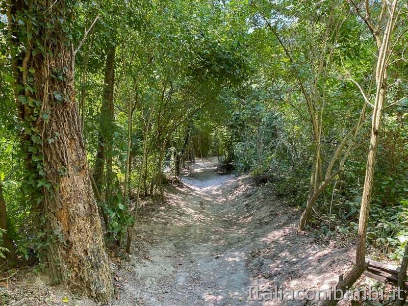Riserva naturale Gola del Furlo - passeggiata lungo il fiume