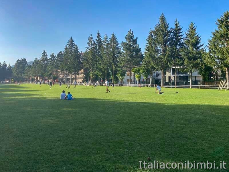 Roccaraso - area giochi - Pratone