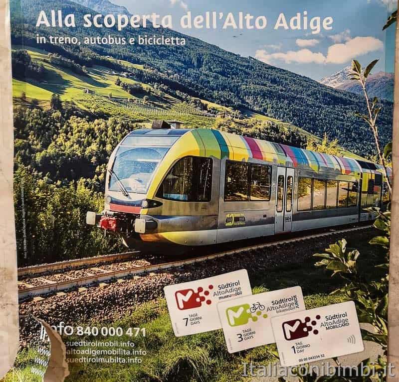 Stazione di San Candido - locandina mobilcard