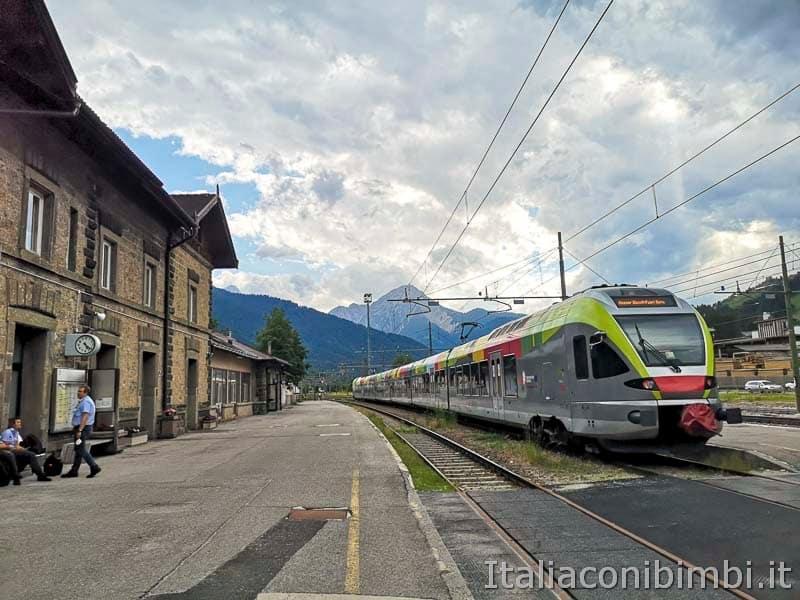 Stazione di San Candido - treno