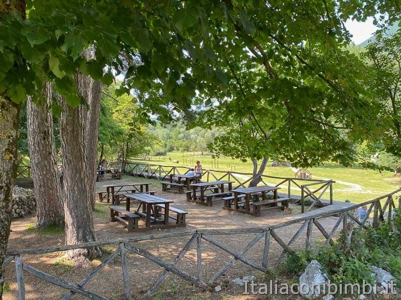 Val Fondillo - area picnic