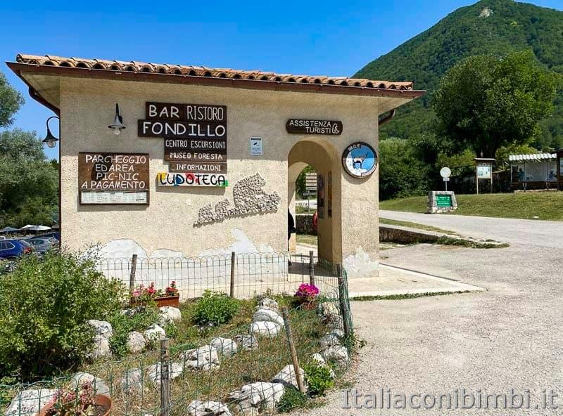 Val Fondillo - bar ristoro