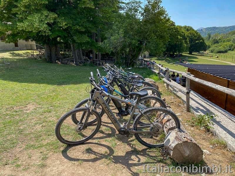 Val Fondillo - noleggio bici