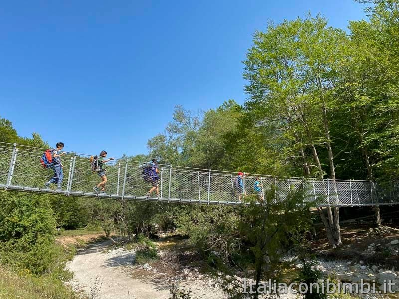 Val Fondillo - ponte sospeso