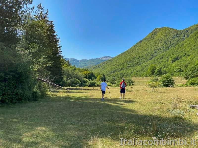 Val Fondillo - sentiero F2 prato