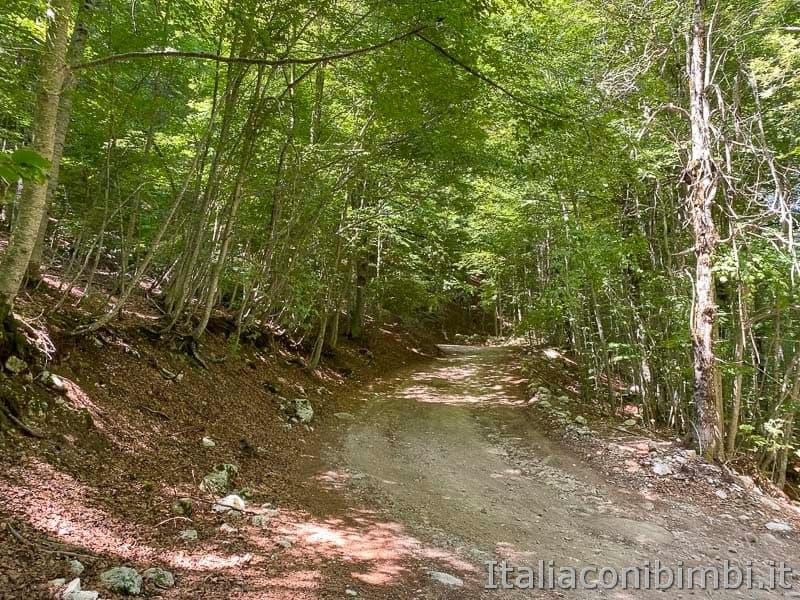 Val Fondillo - sentiero F2 salita finale per la grotta delle fate