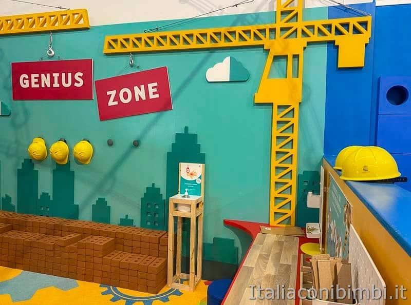 Children's Museum - area cantiere gru