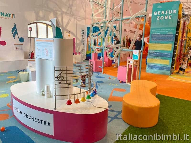 Children's Museum -mostra suonati