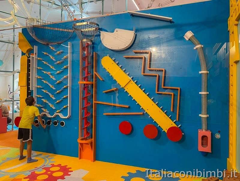 Children's Museum - parete meccanica