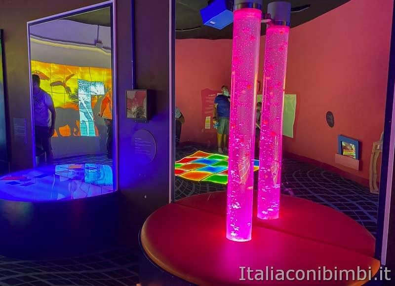 Children's Museum - stanza della luce