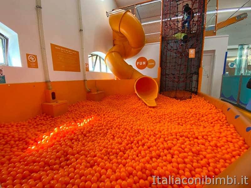 Children's Museum - vasca delle palline