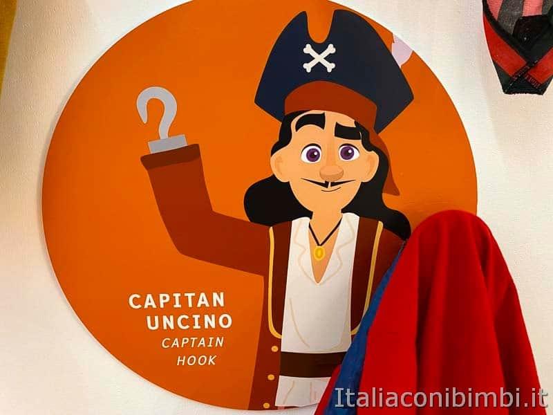 Children's Museum - vestito da capitano uncino