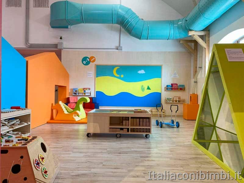 Children's Museum - zona 0-3 montessoriana