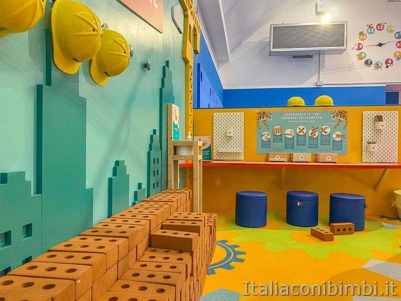 Children's Museum - zona cantiere