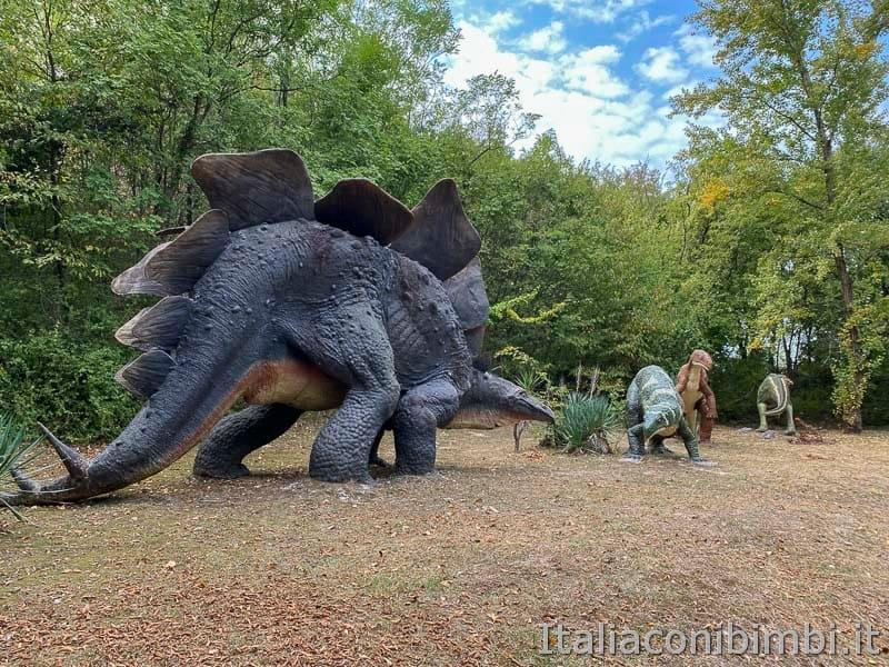 Parco Natura Viva - area dinosauri