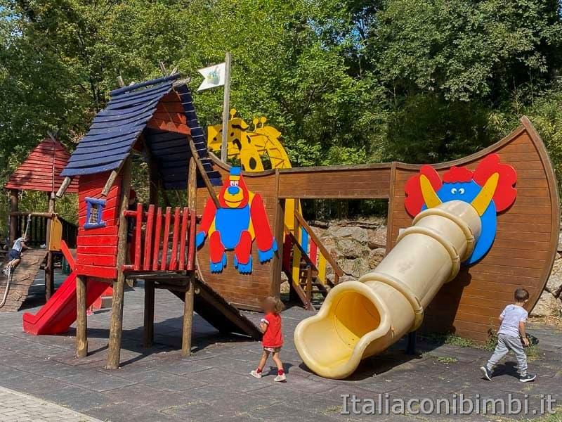 Parco Natura Viva - area giochi bimbi