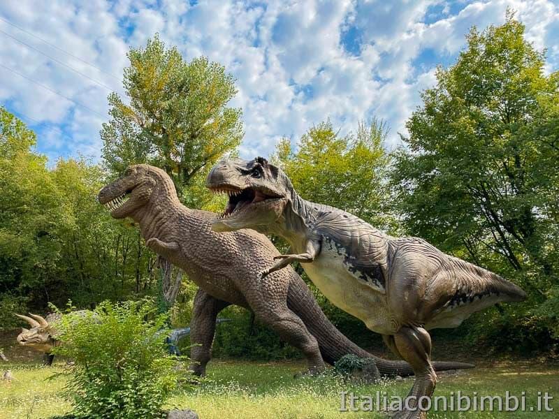 Parco Natura Viva - dinosauri grandi
