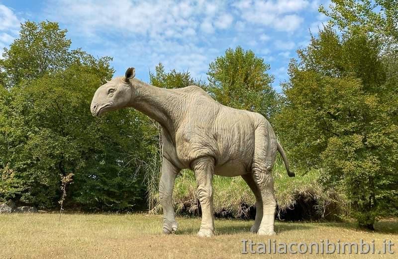 Parco Natura Viva - dinosauro