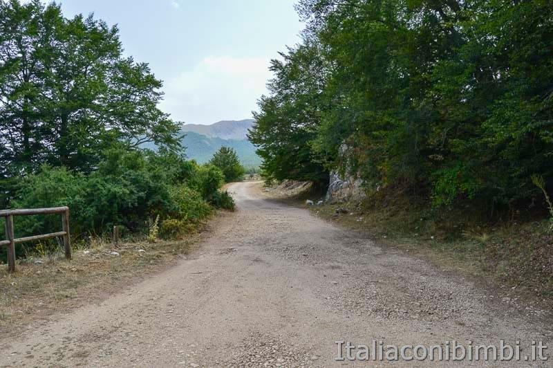Sentiero Rifugio Cicerana - Abruzzo - sentiero