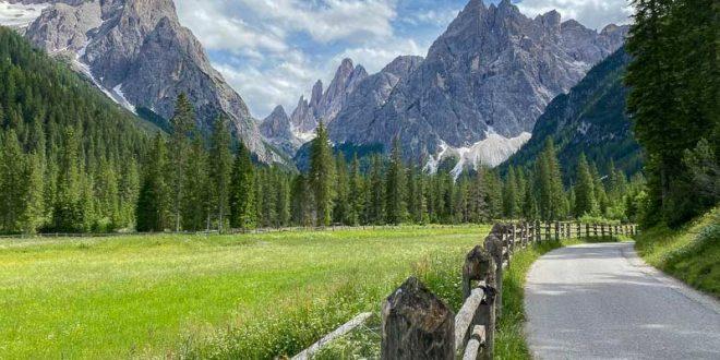 Val Fiscalina - panorama dalla passeggiata